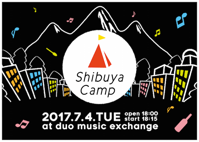 7月4日(火) 渋谷 duo Music exchange